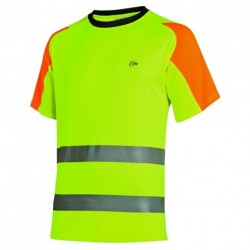 CAMISETA LUK-LIGHT HV NEW M/C